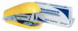 Roadpro RPO-10885 Stapler Mini Pocket with Staples