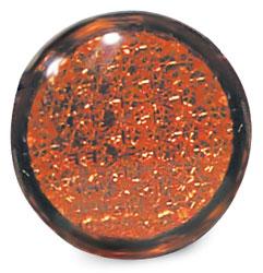 Roadpro RP-3151 1-3 - 4 Round Adhesive-bak Reflector - Ambr