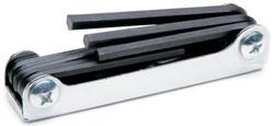 Roadpro SST-30100 Hex Key Set Folding 9pc 5 - 64 - 1 - 4