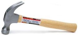 Roadpro SST-50100 Hammer Claw 16 oz Hardwood Handle