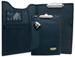 Roadpro DCB-111BK Clipboard - Padfolio 9x12 Black