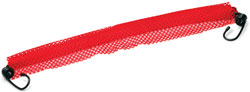 Roadpro 1818B Danger Flag 18x18red with Elastic Strap