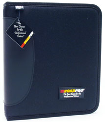Roadpro LB-004BK Log Binder 3ring For Loose-Leaf Blk