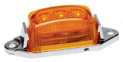 Roadpro RP-1445A Low Profile Sealed LED Mkr Lite - Amber