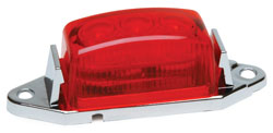 Roadpro RP-1445R Low Profile Sealed LED Mkr Lite - Red