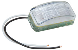 Roadpro RP1446C Led 2.5 Sealed Rect. Lic Plate Light