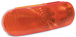 Roadpro RP-6064A 6-1 - 2x2-1 - 4 Oval Sealed Lt - Amber