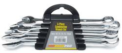 Roadpro RPS2018 5 Pcs Combo Metric Wrench Set