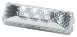 Roadpro RP1274CADL Led Dia Lens Clear Sealed Marker Light