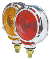 Roadpro RPMH3010 Red & Amber Dbl Face Stp Turn Tail