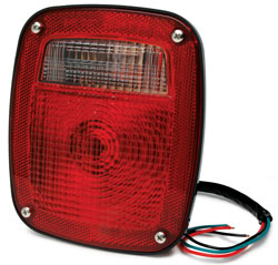 Roadpro RP-5402 6-3 - 4x 5-3 - 4 Tail Tail Light Assembly