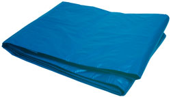 Roadpro RPTP-1216 Double Polyethylene Tarp - Blue