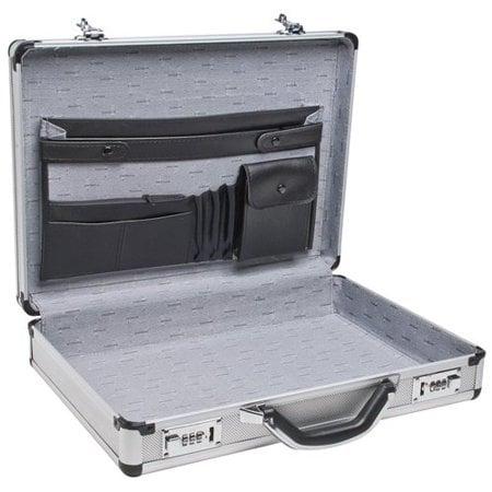 Roadpro SPC-931R 17.5 x 4 x 13 Silver Aluminum Briefcase