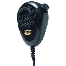 Roadpro PS-3004 4 Pin Noise Canceling Platinum Series CB Microphone - Black