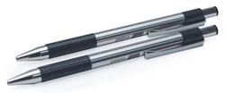 Zebra 27112 F301 2pk Retr Pen Fine Pt Black Ink