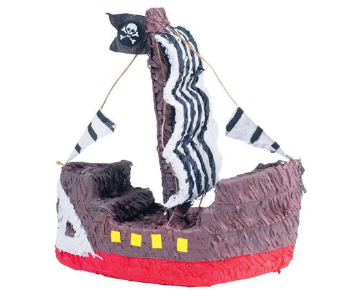 YA OTTA PINATA 30218 Pirate Ship Pinata paper