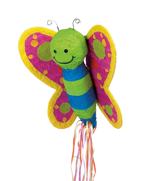 YA OTTA PINATA 30226 Butterfly Pull String Pinata paper