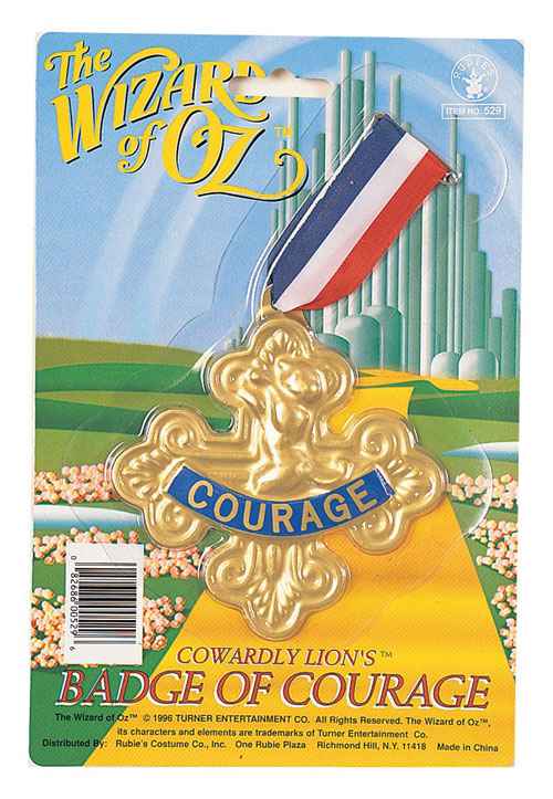 Rubies Costume Co 3685 Wizard of Oz Badge Of Courage