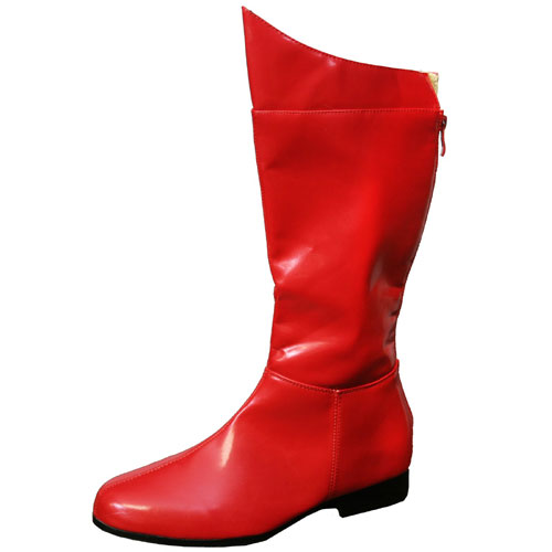 PLEASER 19638 Super Hero Boots Red Adult Size X-Large 14