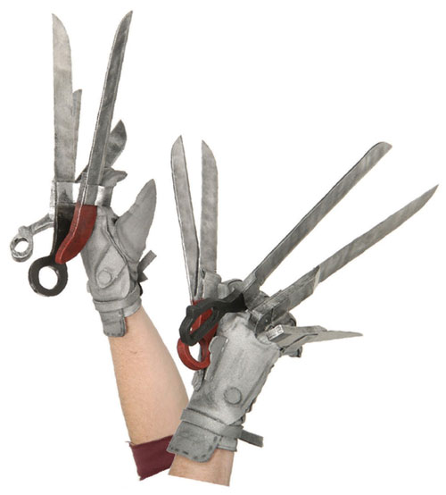 Rubies Costume Co 31302 Edward Scissorhands Deluxe Gloves Adult BUYS0661
