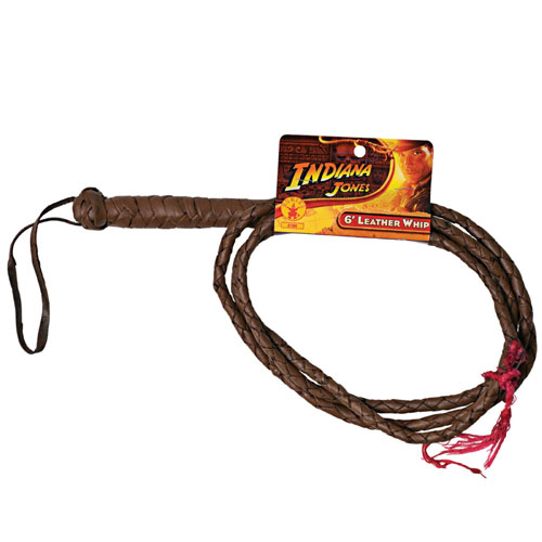 Rubies Costume Co 33154 Indiana Jones 6  Leather Whip BUYS0849
