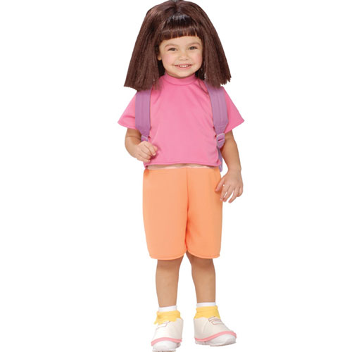 Rubies Costume Co 33182 Dora The Explorer Halloween Sensations Dora Child Costume Size Small- Girls 4-6