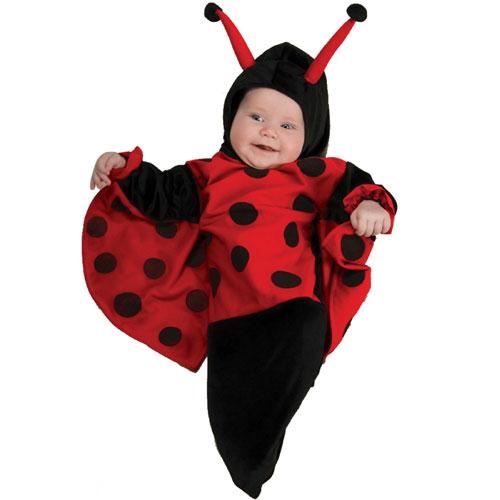 Rubies Costume Co 33317 Ladybug Bunting Infant Costume Size Newborn - 9 Months BUYS10028