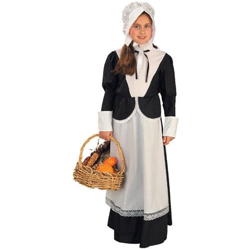 Forum Novelties Inc 20887 Pilgrim Girl Child Costume Size Small-  Size 4-6