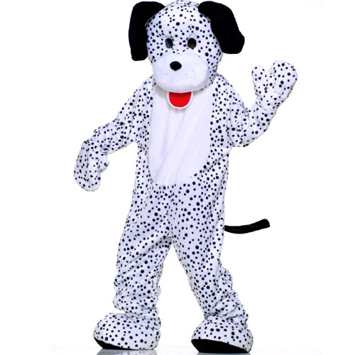 Forum Novelties Inc 33740 Dalmatian Plush Economy Mascot Adult Costume Size One-Size