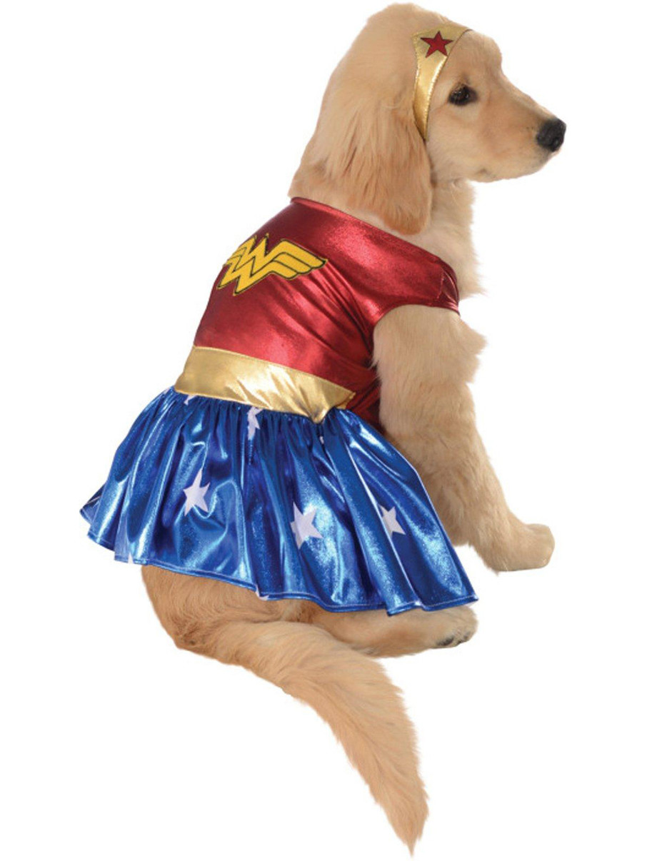 Rubies Costume Co 18839 Wonder Woman Deluxe Pet Costume Size Small