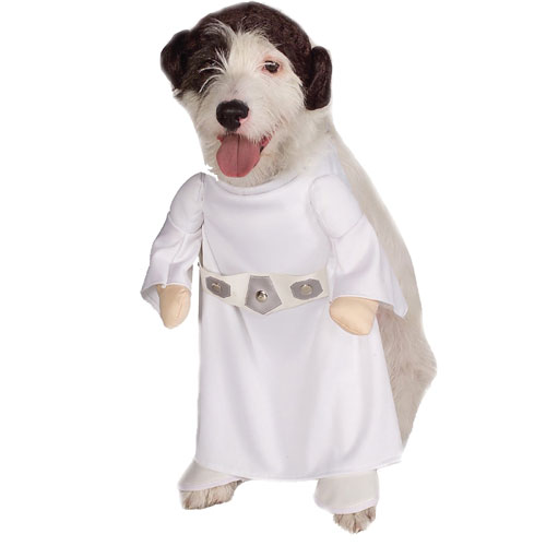 Rubies Costume Co 18840 Star Wars Princess Leia Pet Costume Size Large