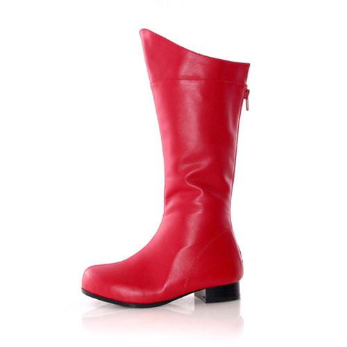 33568 Shazam Red Child Boots Size Medium 13-1