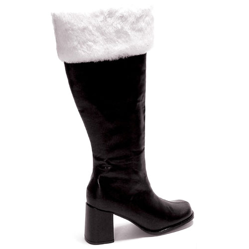UPC 843226006629 product image for Ellie Shoes 33613 Gogo Fur Black Adult Boots Size 8 | upcitemdb.com