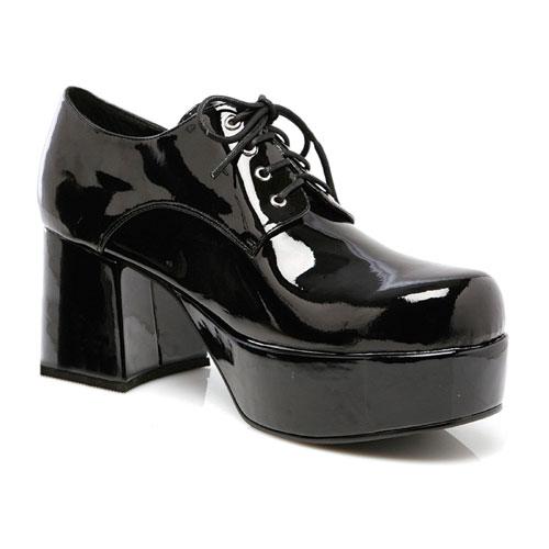 Ellie Shoes 33631 Black Pimp Shoes Adult Size Large 12-13
