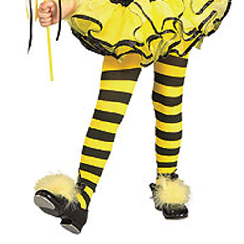 Rubies Costume Co 34565 Bumble Bee Tights - Child Size Toddler BUYS1724
