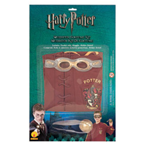 Rubies Costume Co 33045 Harry Potter & The Half-Blood Prince Quidditch Kit Size Standard One-Size BUYS1837