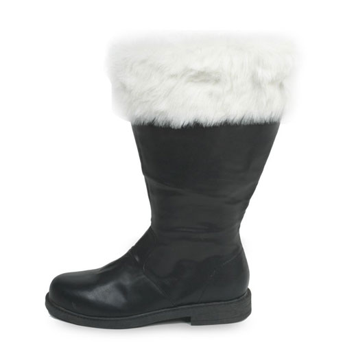 PLEASER 19636 Santa Boots Adult Size Medium 10-11