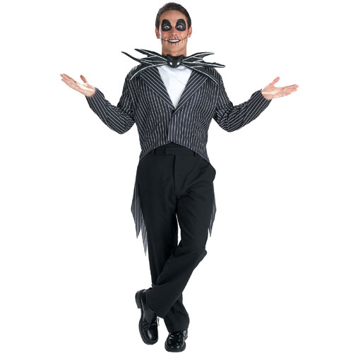 Disguise Inc 31496 The Nightmare Before Christmas Jack Skellington Teen Costume Size 38-40