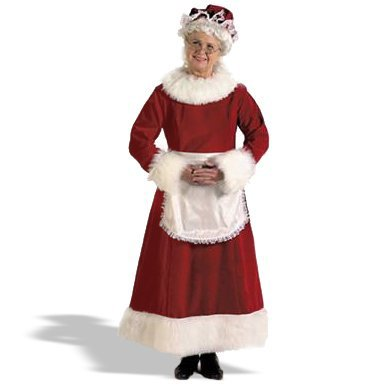 Halco 6279 Mrs. Claus Dress Costume Size Large 12-14