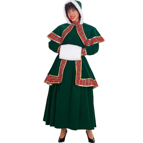 Rubie s Costume Co 11082 Long Victorian Christmas Caroler Adult Costume Size Large