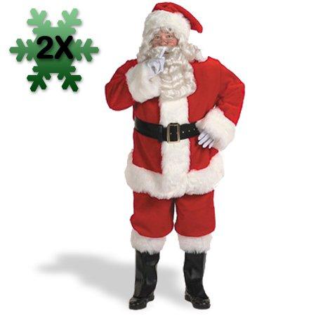 Halco 18209 Professional Santa Suit 58-62 Costume Size 58-62