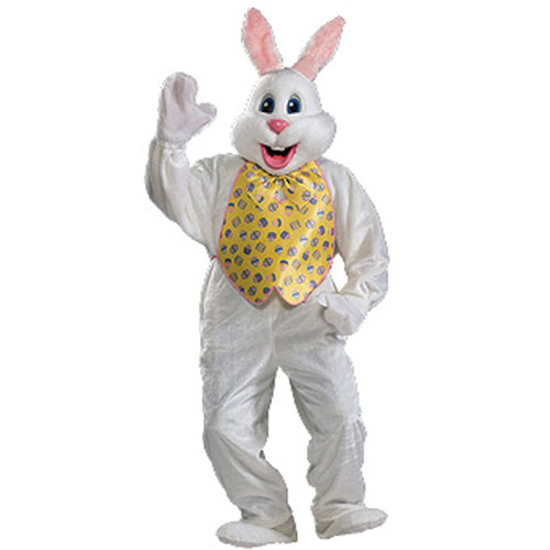 Rubies Costume Co 34363 Deluxe Easter Bunny Adult Costume Size One-Size BUYS2527