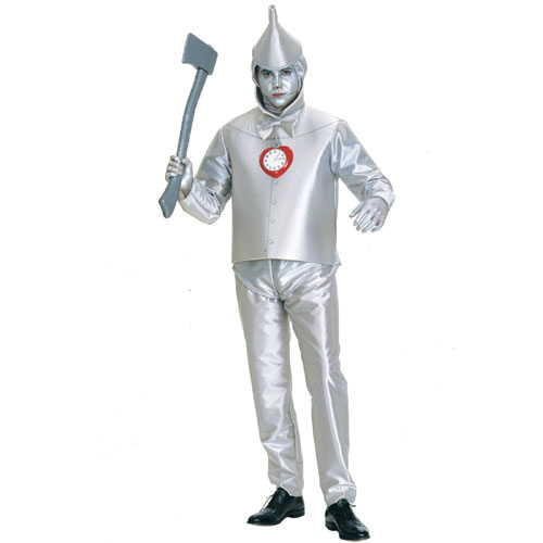 Rubies Costume Co 3178 The Wizard of Oz Tinman Adult Costume Size Standard One-Size- Men Size 46   Chest-6