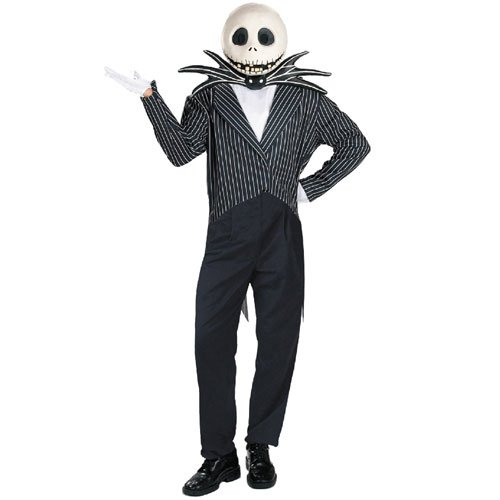 Disguise Inc 11457 The Nightmare Before Christmas Jack Skellington Deluxe Adult Costume Size Standard One-Size