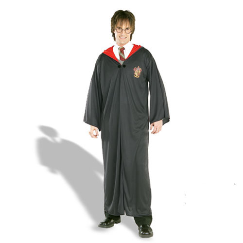 Rubies Costume Co 17684 Harry Potter Robe Adult Costume Size Standard One-size- Men Size 46   Chest-6 BUYS2739