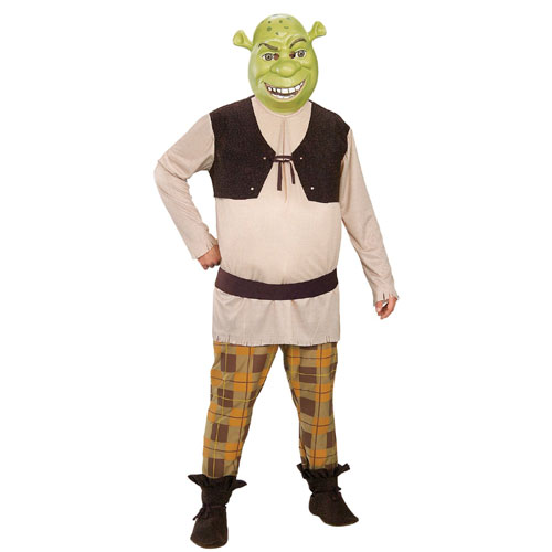 Rubies Costume Co 17813 Shrek Deluxe Adult Costume Size X-Large- Men Chest Size 46-48