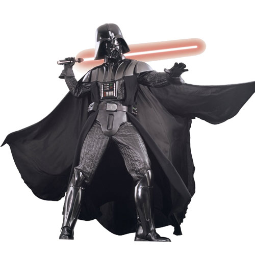 Rubies Costume Co 18761 Star Wars Darth Vader Collector's Supreme Edition Adult Costume Size X-Large- Men Chest Size 46-48