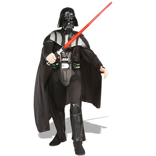 Rubies Costume Co 18813 Star Wars Darth Vader Deluxe Adult Costume Size Standard One-Size- Men Size 46   Chest-6 BUYS2823