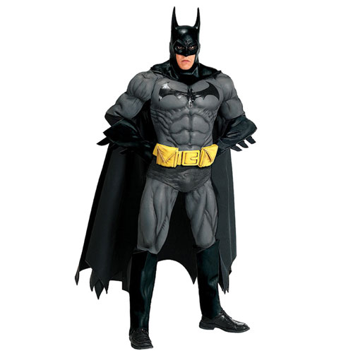 Rubies Costume Co 19975 Collector's Edition Batman Adult Costume Size Standard One-Size- Men Size 46   Chest-6 BUYS2943