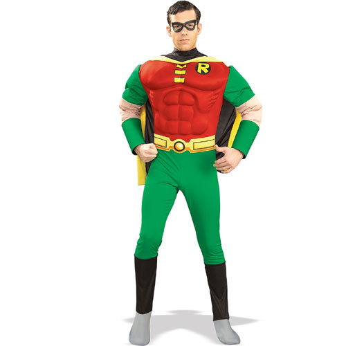 Rubies Costume Co 21118 Robin Muscle Chest Adult Size Large BUYS3028